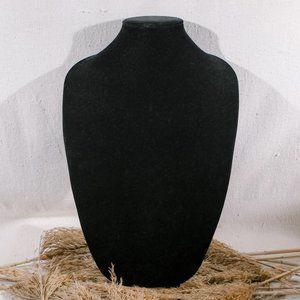 Black Velvet Jewelry Display Stand - LRG